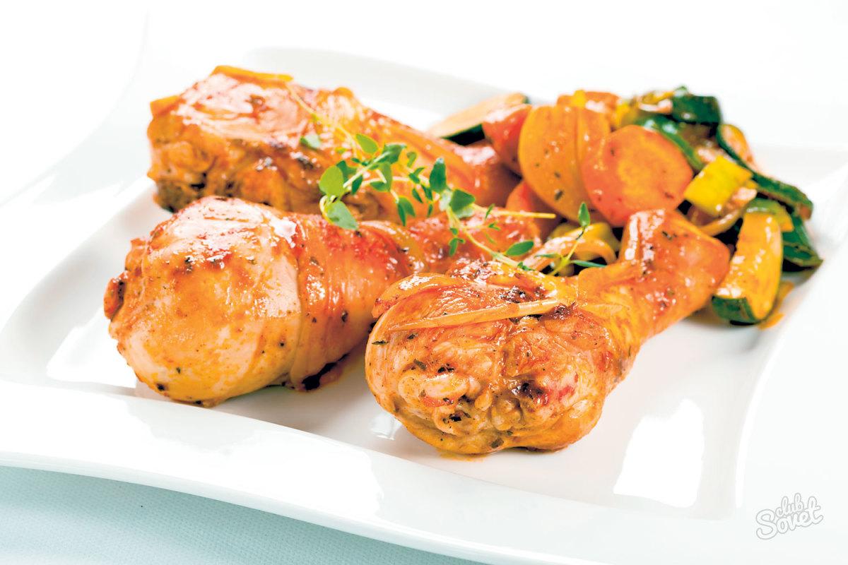 Izgara tavuk turşusu - leziz bir öğle yemeğinin temeli
