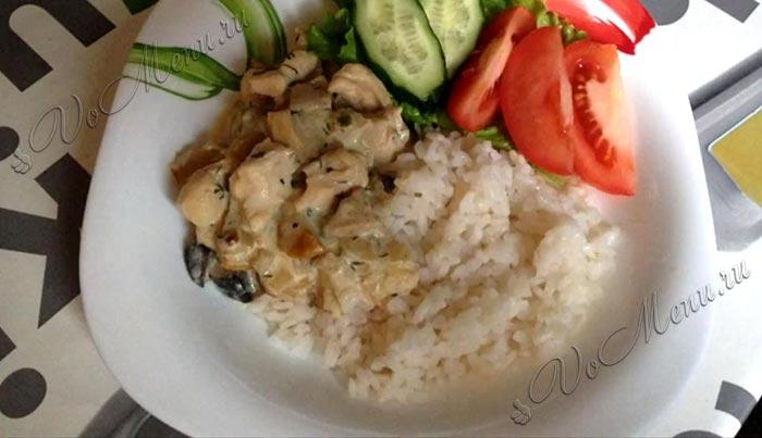 Multivarkdaki en kolay tavuk yemekleri