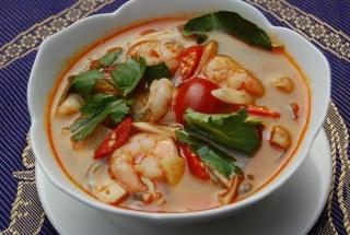 суп том ям рецепт с кокосовым молоком из пакетиков